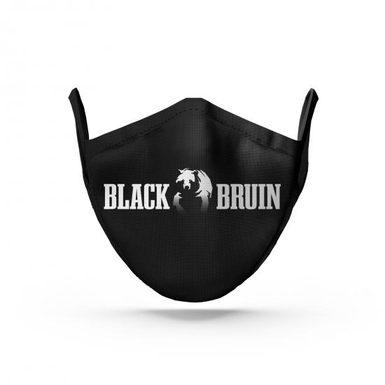 Black Bruin Logolu Siyah Maske